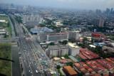 Roxas Blvd looking north, Manila, Philippines