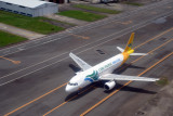 Cebu Pacific A320 taxiing for Rwy 13 at MNL (RP-C3242)