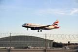 British Airways A319 (G-EUOH) with Heathrow Terminal 5