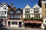 Restaurants along Thames Street, Windsor