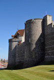 West wall of Windsor Castle dating from Henry III