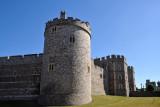 Southwest corner of Windsor Castle, Castle Hill