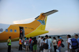 Cebu Pacific ATR-72, Manila Airport