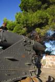 Giant old cannon, Montjuïc Castle