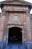Main gate to Montjuïc Castle