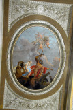 Large tondo (circular painting) on the ceiling of the Grand Staircase, Napoleonic wing of the Procuraties
