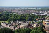 View northwest from York Minster
