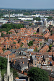 View SE from York Minster