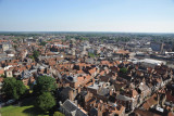 View south from York Minster