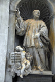 St. Cajetan Thiene (1480-1547) founder of the Order of Clerics Regular (Theatines) by Carlo Monaldi, 1738
