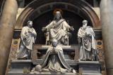 Monument to Pope Pius VIII (1829-1830) by Pietro Tenerani, 1866