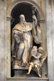 St. Benedict (ca 480-547) founder of the Benedictines, by Antonio Montauti, 1735