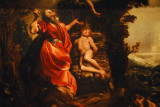 The Sacrifice of Issac by Ludovico Carracci