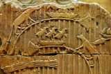 Fragment of a tomb relief depicting wildlife along the Nile, Old Kingdom VI Dynasty ca 2250 BC