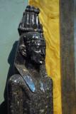 Statue of the god Horus-Zeus Casios of Pelusium, , Roman Imperial Period, 2nd C. AD