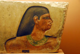Painted relief fragment, IVth Dynasty, Gregorian Egyptian Museum