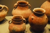 Ancient Levantine pottery, displayed as part of the Gregorian Egyptian Museum