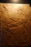 Winged figure kneeling in front of the Sacred Tree, Assyrian, (Ashurnasirpal II) 883-859 BC