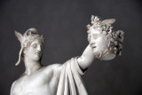 Perseus with the Head of Medusa by Antonio Canova, Museo Pio-Clementino