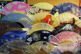 Japanese folding fans 扇子 (sensu) Nakamise-dōri, Asakusa