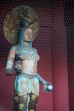 The Buddhist goddess Kinryū, Kaminarimon