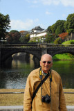 Dad at the Imperial Palace, Tokyo