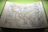 Dutch Nieuwe Hand-atlas der Aarde Amsterdam, 1855