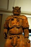 Standing wooden Shitsukongo-shin (Vajrapani) by Takenouchi Kyuichi, 1893