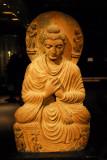 Schist stone Buddha from Gandhara (Pakistan) 2-3rd C. AD