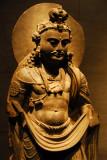 Schist Bodhisattva, Kushan dynasty, Gandhara (Pakistan) 2nd C. AD