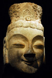 Head of Bodhisattva from the Longmen Grottoes, Henan Province, China 6th C. AD