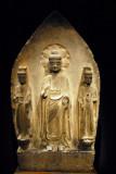 Buddha triad, Eastern Wei Dynasty, China 6th C.