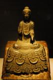 Buddha from Golden Hall of Horyuji, Asuka period, 7th C.