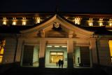 Honkan Japanese Gallery at night, Tokyo National Museum