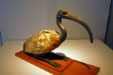 Wooden statue of Ibis, Ptolemaic period (Egypt) ca 304 BC