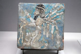 Glazed tile from NW Iran, 8th-7th C. BC