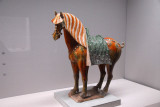 Three-color glaze horse, Tang dynasty (China) 7th-8th C