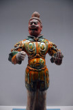 Three-color glaze Divine King, Tang dynasty (China) 7th-8th C.