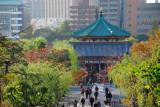 Benten-do Temple dedicated to the goddess Benzaiten, Ueno Park