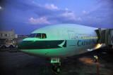 Cathay Pacific A330 at Hong Kong