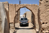 ...not the easiest place to drive...old town Ibri