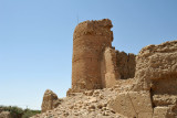 Ruins of a fort on the edge of Al Araqi, Oman