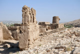 Upper part of the ruined village at Al Selaif