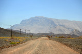 Western face of Jebel Shams, road from Bat to Al Ablah