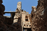 Most of Misfat Al Abryeen is in good condition but there are some ruins