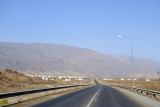 The road from Bahla to Nizwa