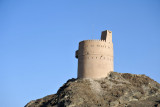 Watchtower on the edge of Nizwa on the road from Bahla