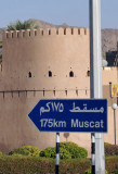 Nizwa to Muscat 175km