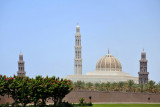 Sultan Qaboos Grand Mosque, completed in 2001