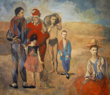 Family of Saltimbanques, Pablo Picasso, 1905